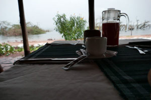 Breakfast Views on the Ngamba